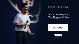 God's Sovereignty, Our Responsibility